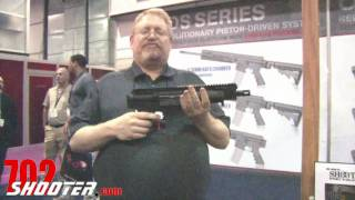 Rock River Arms New Side Charging PDS Pistol at 2011 SHOT Show