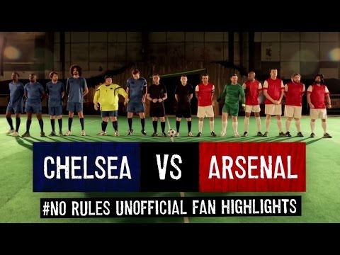 Chelsea 6-0 Arsenal | #NoRules Unofficial Fan Highlights