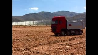 Wedico Daf Xf 105 SSC 8x8 Arazi Video 2