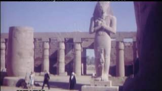 Luxor And Karnak Egypt, 1960s - Film 99005