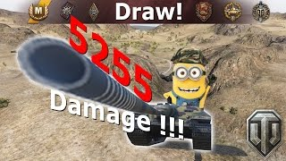 E25 Way to be played - 5255 damage - World of Tanks