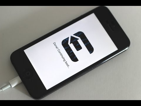 JAILBREAK iOS 6.1 iPhone 5/4S/4/3GS iPod Touch 5G iPad 4/3/2 Mini Untethered Evasi0n How to Tutorial