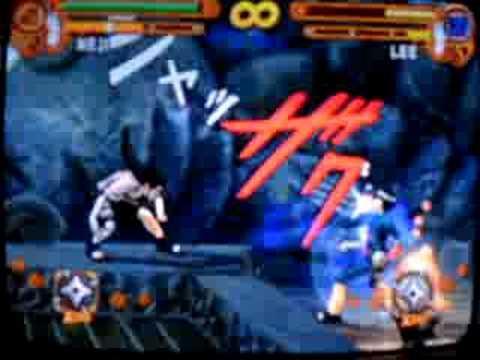 vs Rock Lee Drunken Fist