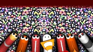 WORLD RECORD MASS SLITHER.IO SERVER?! - Slither.io Gameplay - Hacking Slither.io Hack / Mods