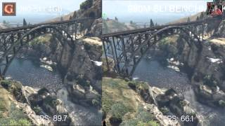 GTA 5 PC - GTX 980 SLI VS GTX 980m SLI - Desktop VS Laptop FPS Official Rockstar Benchmark