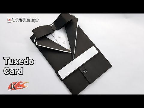 make your own Suit Tuxedo Greeting Card