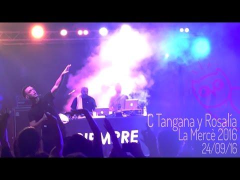 C. Tangana y Rosalia @ La Mercè 2016, Barcelona Acció Musical (BAM)