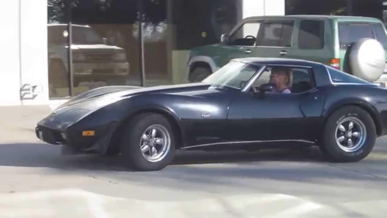 1969 Corvette Stingray >> 1978 Chevrolet Corvette Stingray C3 -- 25th Anniversary -- Schwarz - YouTube