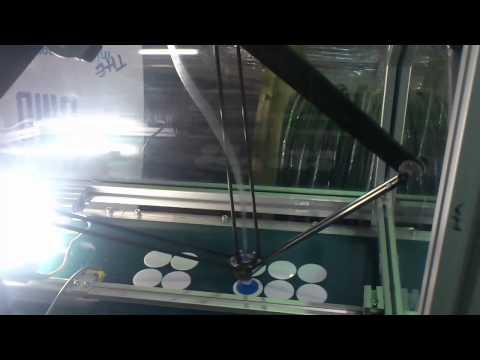 Desplazamiento de piezas con Robot VC-01 Delta