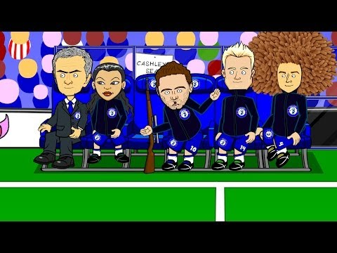 JUAN MATA SONG by 442oons (Chelsea Mourinho Man Utd football cartoon)