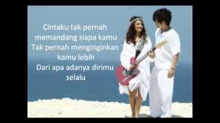 Nicky Tirta feat Vanessa Angle -  Indah Cintaku (lirik)