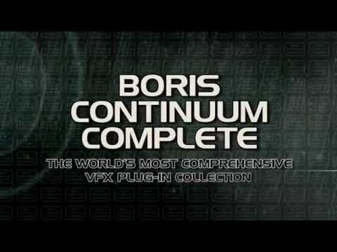 Boris Continuum Complete v9.0.1 for Adobe After Effects and Premiere