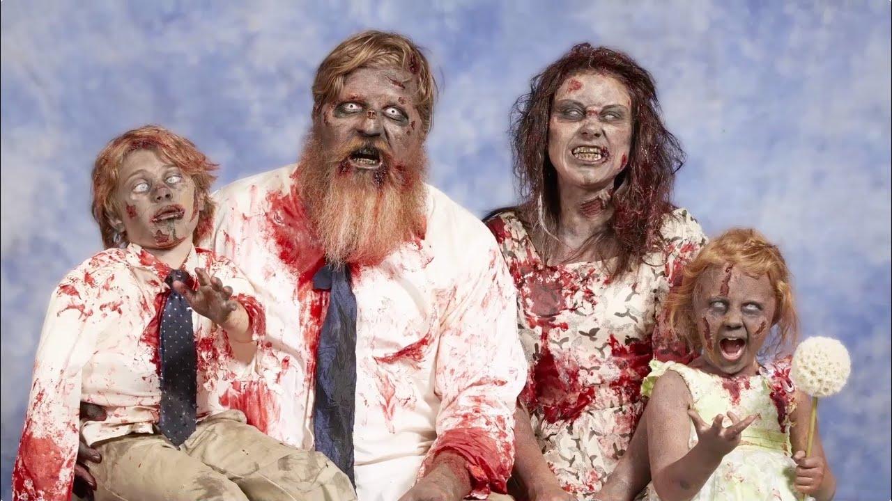 Zombie nacked nude scene