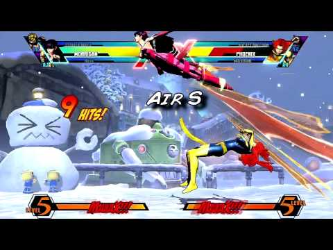 UMvC3 - Morrigan Guide part 3 - All about the Tech w/Commentary
