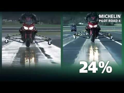 Michelin Pilot Road 4 Sicurezza e guida sul bagnato