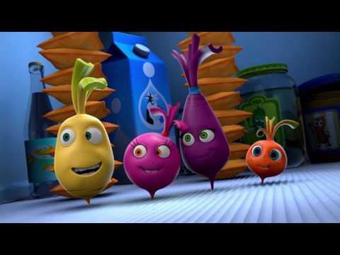 Прикольный мультик «Овощная вечеринка» - Индийское кино  (61 серия)