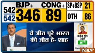 "Lok Sabha Election Results 2019: ""India wins yet again,"" tweets Prime Minister Narendra Modi"