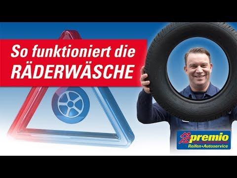 Die Räderwäsche | Premio Reifen + Autoservice