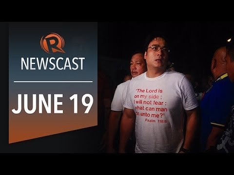 Rappler Newscast: Bong faces arrest, Iraq crisis, Spain's new king