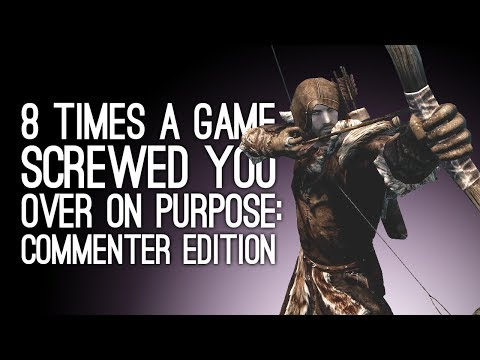 8 Times a Game Screwed You Over on Purpose, You Swear: Commenter Edition