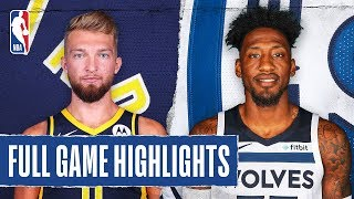 PACERS at TIMBERWOLVES | FULL GAME HIGHLIGHTS | January 15, 2020