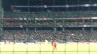 MS Dhoni hitting longest six in IPL(CSK). Must Watch.