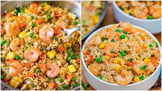 Better than Take-out Easy Shrimp Fried Rice Recipe