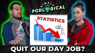 Why We Still Work a Day Job & Being a Crime Statistics Analyst - SimplyPodLogical # 9