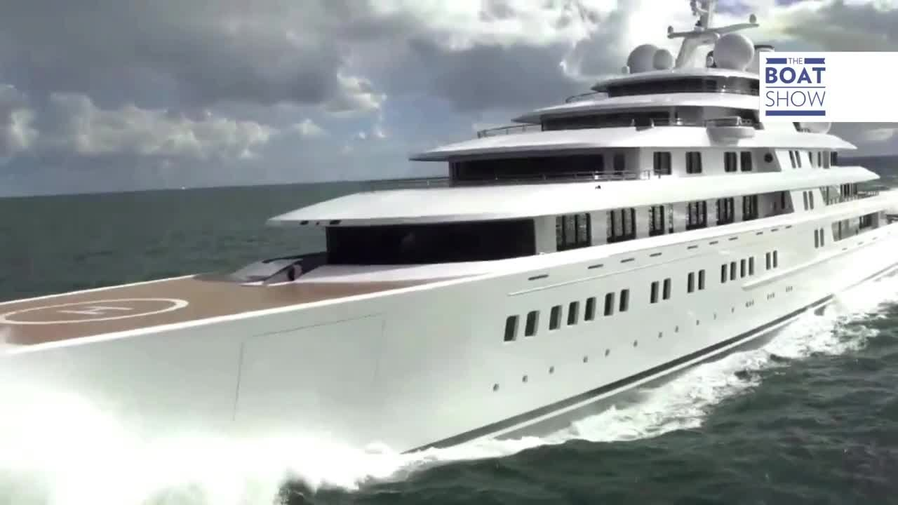 Eng Quot Azzam Quot Largest Superyacht Ever The Boat Show Youtube