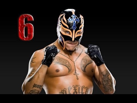 WWE Smackdown vs Raw 2009 REY MYSTERIO PART 6 ROAD TO WRESTLEMANIA