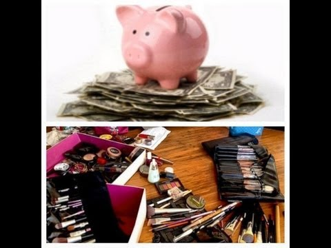 How to save money on high end AND drugstore makeup!