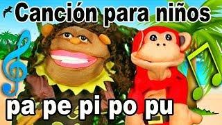 Canción pa pe pi po pu - El Mono Sílabo - Videos Infantiles - Educación para Niños #