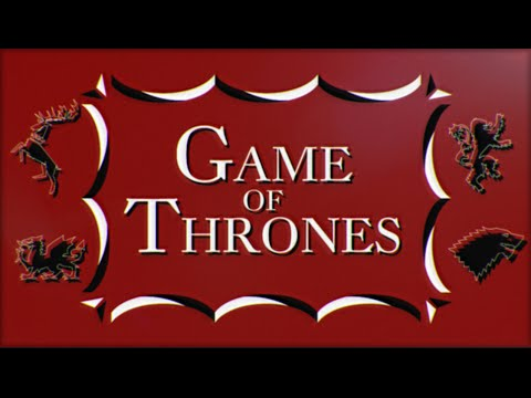 Game of Thrones - 60's/Saul Bass style title sequence