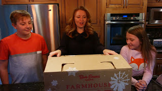 Bob Evans Farmhouse Feast Unboxing
