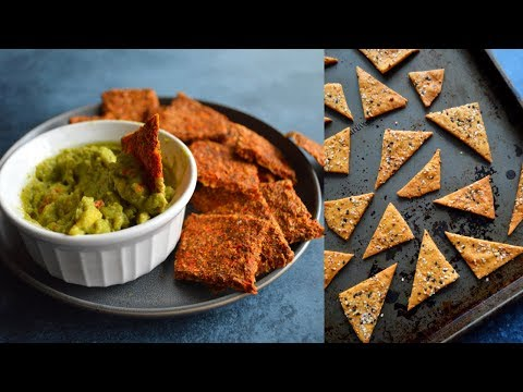 4 Vegan Gluten Free Cracker Recipes