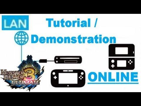 Monster Hunter 3 Ultimate - Lan Adapter - Setup / Tutorial - For Monster Hunter 3DS ONLINE Play