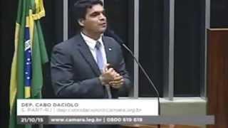 Cabo Daciolo profetiza contra Eduardo Cunha 21/10/2015