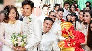 TRỰC TIẾP: Đám cưới Vũ Ngọc Ánh - Anh Tài Cô dâu đeo vàng đỏ cổ trong lễ rước dâu!