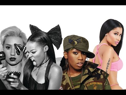 FEMALE RAP BATTLE (Nicki Minaj VS Iggy Azalea VS Azealia Banks VS Missy Elliot)