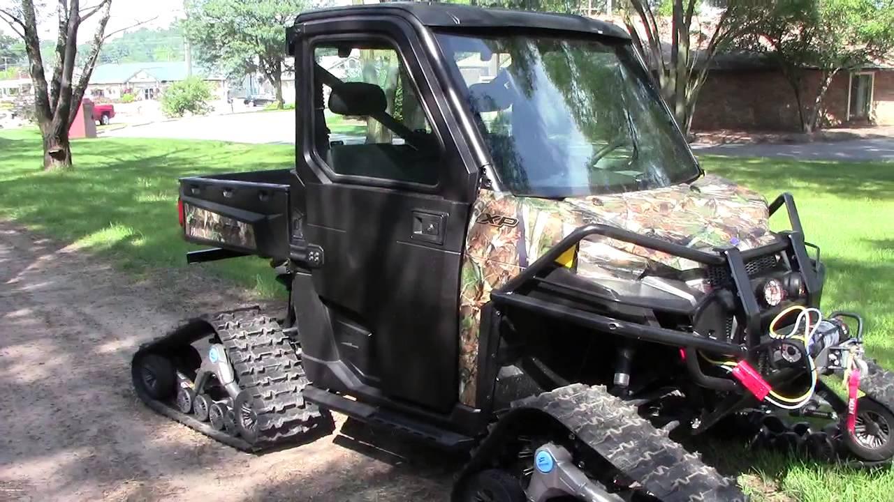 2013 Polaris Ranger Xp900 Camo With Camoplast Track Kit C