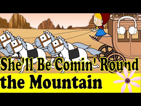 download lagu She`ll Be Comin` Round The Mountain  Family Sing Along - Muffin Songs gratis