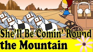 download lagu She`ll Be Comin` Round The Mountain  Family Sing gratis