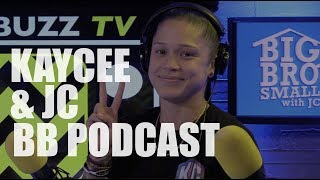Kaycee Joins JC at Big Brother Small World Podcast
