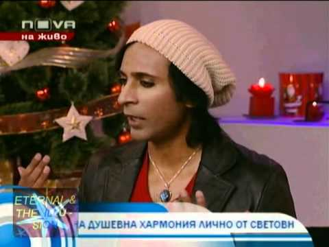 Psychic Medium Riz Mirza on New TV Sophia, Bulgaria morning show