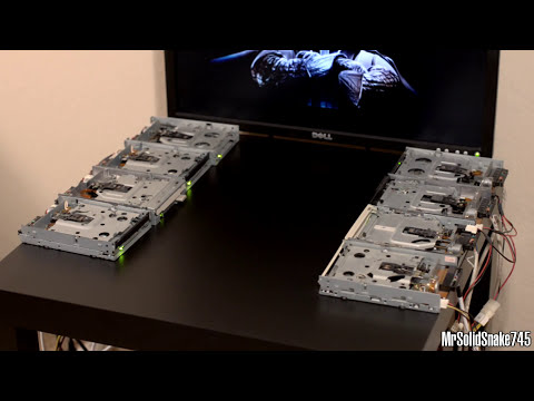 Star Wars - Imperial March on Eight Floppy Drives