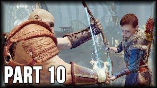 God of War - 100% Walkthrough Part 10 [PS4] ?The Light of Alfheim (3/3)