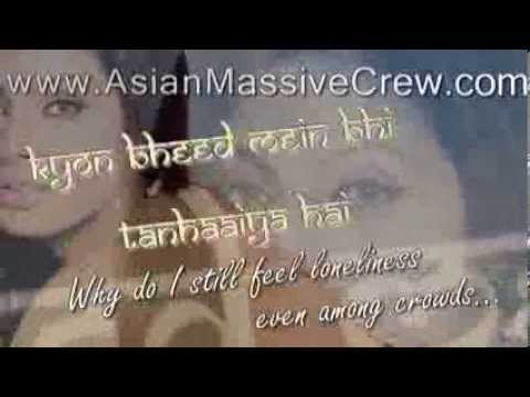 ★ ♥ ★ Afsana Banake REMIX Lyrics + Translation★ www....