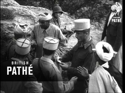 French Troops Attack Guerillas In Morocco (1955)