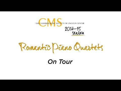 Romantic Piano Quartets on Tour - CMS