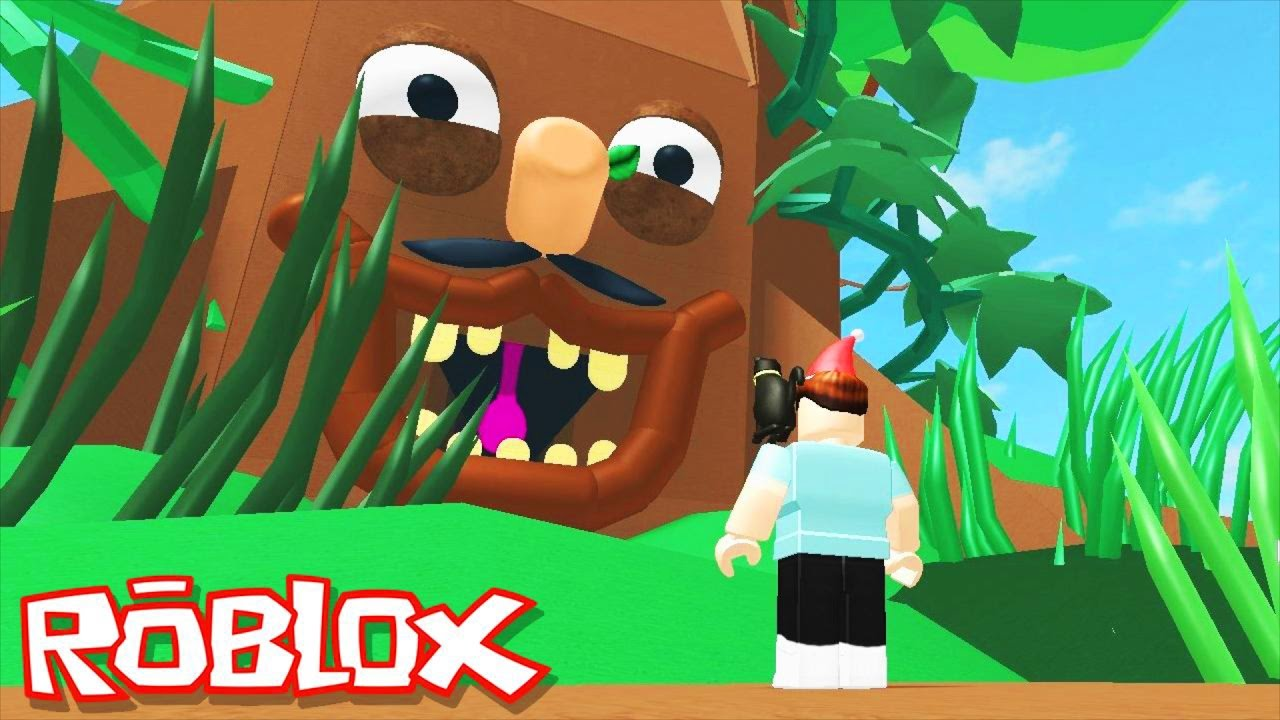 Roblox Adventures / Climb Mr. Tree / Escape the Giant Evil Tree Obby!